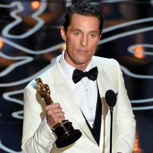 Mcconaughey is pumped that he'll be his own hero ten years from now.